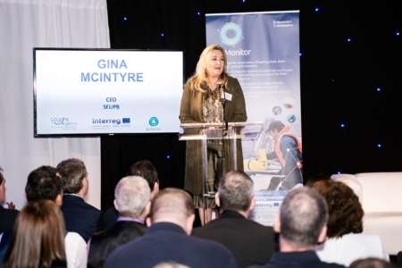 Gina McIntyre at SeaMonitor Launch