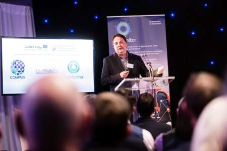 Dr Jonathan Houghton, Principal Investigator, Queens University and guest speaker at SeaMonitor Launch