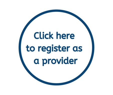 Click here to register as a provider