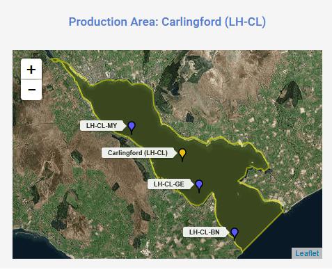 Production Area Carlingford Lough