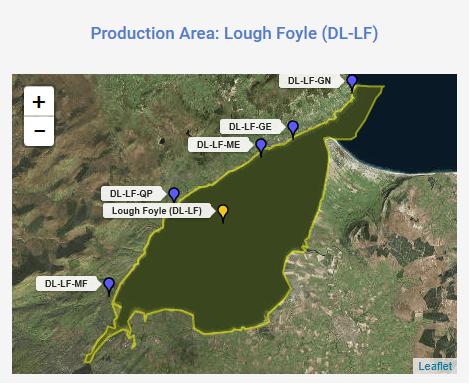 Production Area Lough Foyle