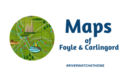 Image with Maps of Foyle and Carlingford