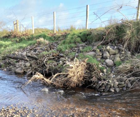 Aghlisk River after restoration works