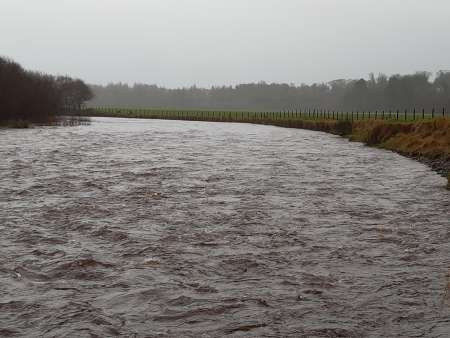 Owenkillew River at Beltrim: Before